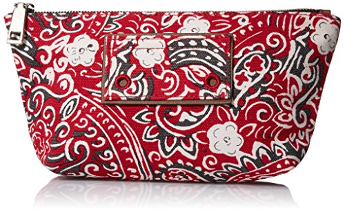 Marc Jacobs Paisley Cosmetics Trapezoid Bag, Chili Pepper Multi, One Size by Marc Jacobs