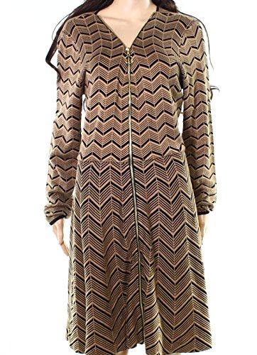 Zip Detail Sheath Dress - 8