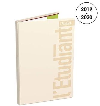 LÉTUDIANT Pastel - Agenda semanal 2019-2020 de agosto a ...