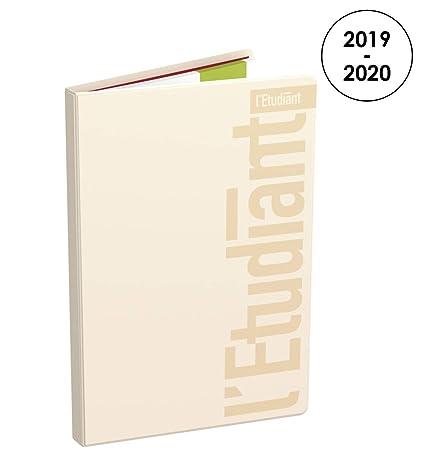 LÉTUDIANT Pastel - Agenda semanal 2019 - 2020 de agosto a julio ...