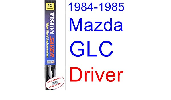 Amazon.com: 1984-1985 Mazda GLC Sedan Wiper Blade (Driver) (Saver Automotive Products-Vision Saver): Automotive