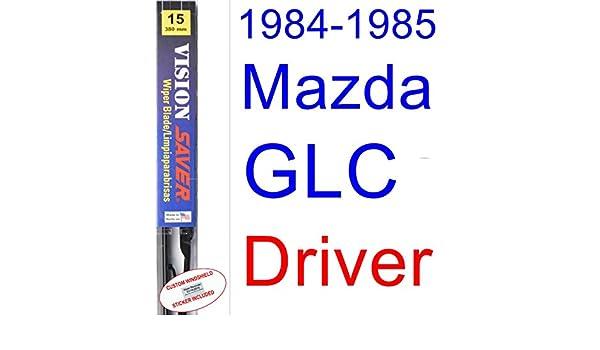 Amazon.com: 1984-1985 Mazda GLC Sedan Wiper Blade (Driver) (Saver Automotive Products-Vision Saver): Automotive