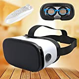 "Virtual Reality Headset, TSANGLIGHT™ 3D VR Glasses Mobile Phone 3D Videos for iPhone 7 Plus/7/6s/6s/SE/5S Samsung S8/S7/S7 Edge/S6/Note5/Grand Prime/A3/A5 2016 and Other 4.0""-6.0"" Cellphones"