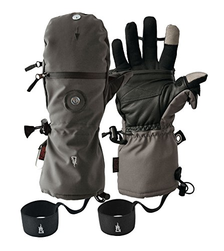 Heat 3 Smart Glove (Gray) Medium 9 by Heat 3