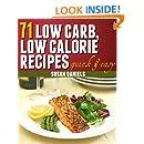71 Low Carb, Low Calorie Recipes (Healthy Eats)
