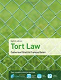 Tort Law, Catherine Elliott and Frances Quinn, 1408286378