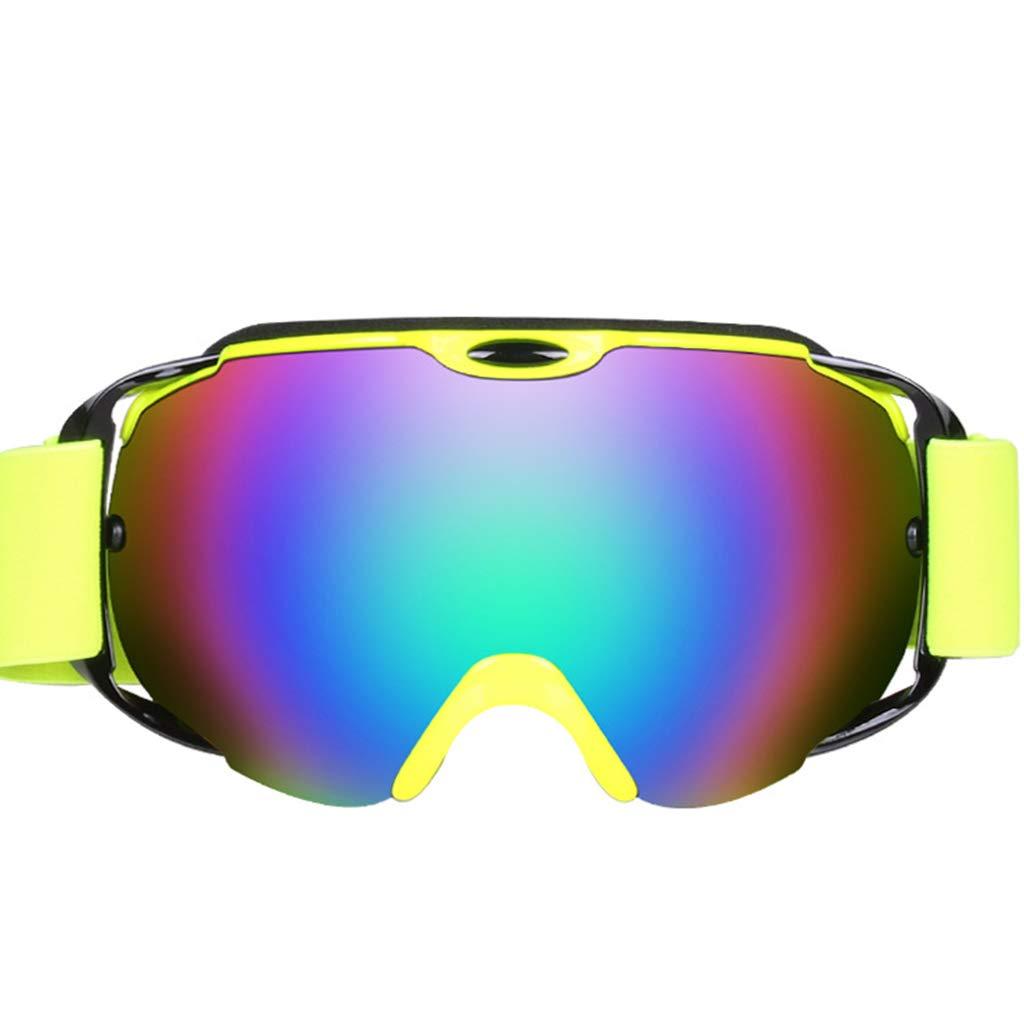 7bfe181890f49 ZYY Skibrille, Doppel-Anti-Fog Große Sphärische Schneebrille Bergsteigen  Skibrille B07MQK58XH Skibrillen Britisches