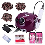 30,000RPM Professional Electric Nail Drill File Manicure Pedicure Machine Kit Set with Sanding