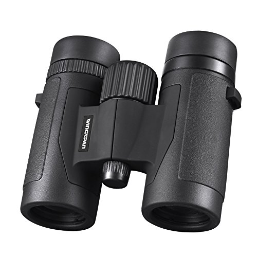 Wingspan Optics Spectator 8X32 Compact Binoculars for Bird Watching. Lightweight and Compact for Hours of Bright,...
