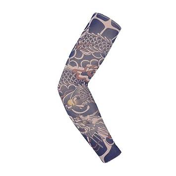 Liushop.co 6 Unids Nylon Tatoo Medias Arm Warmer Cover Elástico ...