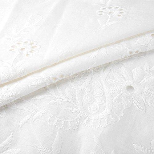 O Été Tee Hauts Tops Gilet Chemisier Solide Blanc Cebbay T Femme Pull cou nbsp;évider shirt Sweatshirt Casual wISOfqAxX