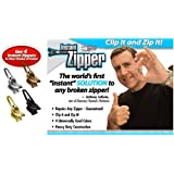 Instant Zipper- Set of 4 Replacement Zippers in Gold