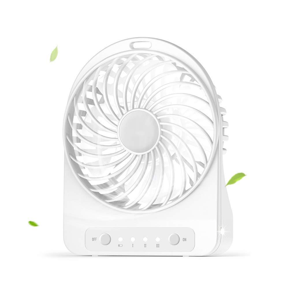 Mini Fan Portable Desk Fan USB Fan 3 Speeds, Desktop Fan for Home Office Outdoor Travel by Fan-wyx