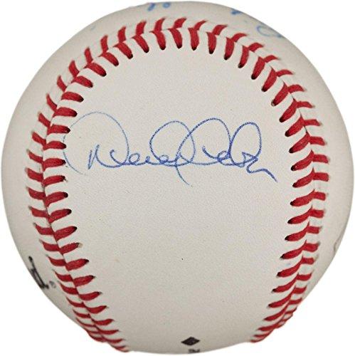 Derek Ball Jeter - DEREK JETER + RICH GARCIA SIGNED BALL 1996 ALCS JEFFREY MAIER INCIDENT O's YANKS - Autographed Baseballs