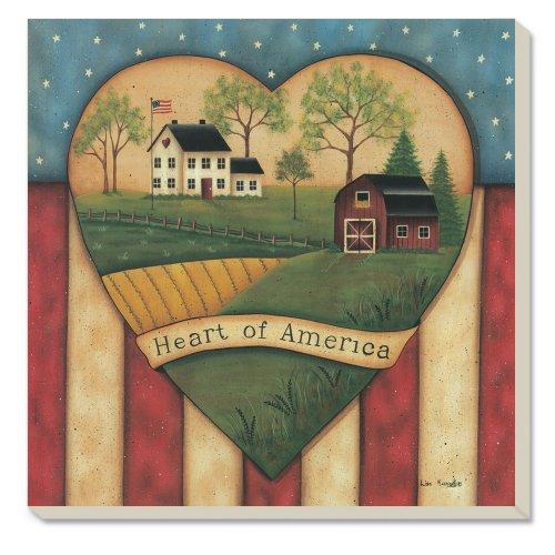 CounterArt Decorative Absorbent Coasters America