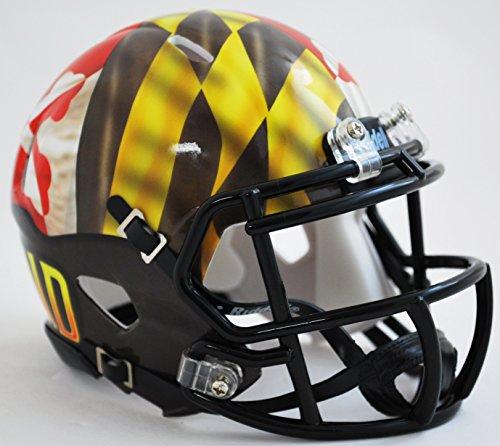 (Maryland Terrapins Riddell Speed Mini Replica Pride Football)
