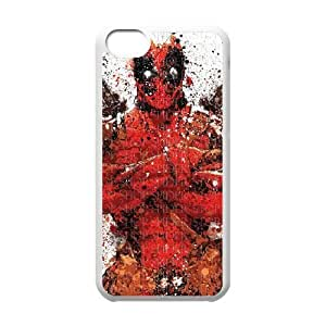Deadpool iPhone 5c Cell Phone Case White SEJ6563033040954