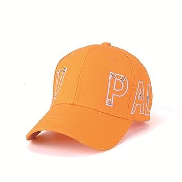 WWF Sombrero de algodón Gorra de Publicidad Bordada Gorra de béisbol Personalizada Gorra de Sol para Adultos,Naranja,Un tamaño: Amazon.es: Deportes y aire ...