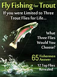 Fly Fishing For Trout Limited To Three Trout Flies For Life (English Edition)