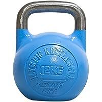 Xenios USA Dorośli stal rosyjska Girevoy Kettlebell-12 kg niebieski Kettlebell