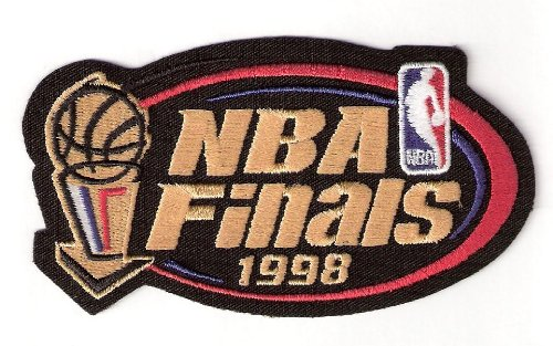 - 1998 NBA Finals Warm Up Jerseys Patch Chicago Bulls Utah Jazz