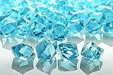 PaperLanternStore.com Water Blue Colored Gemstones Acrylic Crystal Wedding Table Confetti Vase Filler (3/4 lb Bag)