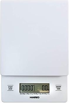 Hario V60 White Drip Coffee Scale