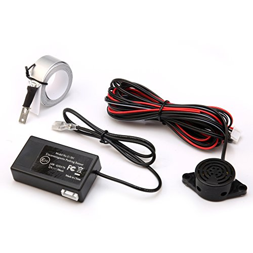 GERI Electromagnetic Car Parking Reverse Backup Radar Sensor System Reversing Kit