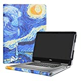 "alapmk–Funda protectora para 13.3"" Dell Inspiron 132en 17000Series 7373i7373/Inspiron 137370i7370Laptop, Starry Night"