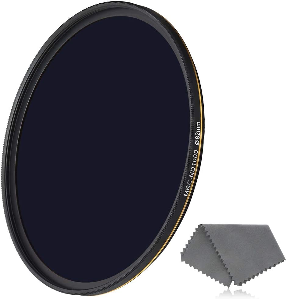 67mm MRC Neutral Density ND1000 Filter Multi-Resistant Coating Slim Frame 10-Stop Factor