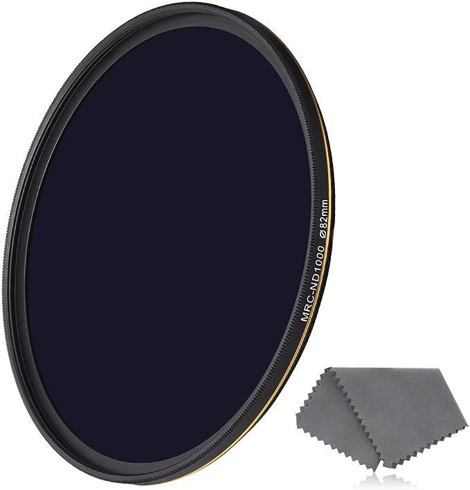 UK ND1000 Filter Neutral Density ND1000 10 Stop Optical Glass Lens Filter Rise 49MM