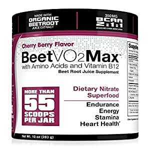 BeetVO2Max-Organic-Beet-Root-Juice-Powder-BCAA-Amino-Acids-Vitamin-B12-L-Arginine-Nitric-Oxide-Booster-Supplement-Non-GMO-Hyper-Endurance-Formula