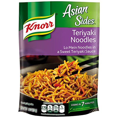 Knorr Asian Sides Pasta Side Dish, Teriyaki Noodles, 4.6 Ounce,(Pack of 8) ()