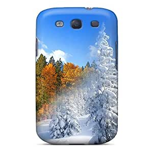 High Quality Shock Absorbing Case For Galaxy S3-fall To Winter