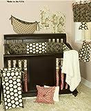 Cotton Tale Designs Raspberry Dot 8 Piece Crib Bedding Set