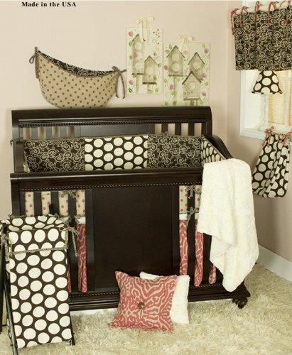 Cotton Tale Designs Raspberry Dot 8 Piece Crib Bedding Set by Cotton Tale Designs