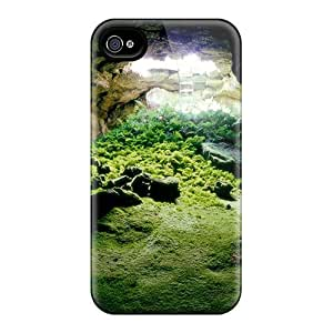 Awesome Earth Under Ground Flip Case With Fashion Design For Iphone 4/4s