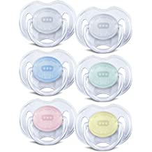 Philips AVENT Translucent Orthodontic Infant Pacifier...