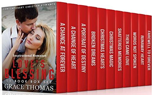Contemporary Christian Romance: Love's Blessing (Inspirational Romance): 11 Book Box Set