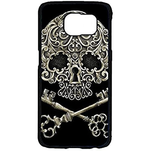 Samsung Galaxy S7 Phone Case Skull Lock And Key Tattoo Cover Case Noticeable Design Snap on Samsung Galaxy S7 Back Case Sales
