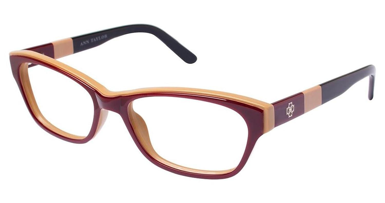 Ann Taylor AT314 Eyeglass Frames - Frame BURGUNDY, Size 54/16mm