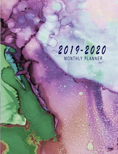 (2019-2020 Monthly Planner: 2019-2020 Monthly Planner At A Glance | 24 Months Calendar 2019-2020 Planner |  2019-2020 Academic Planner | Monthly ... Planner At A Glance Calendar) (Volume 9) )