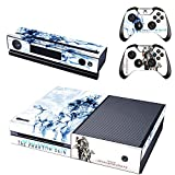 FreeSticker XBOX ONE Designer Skin Game Console + 2 Controller Decal Vinyl Protective Covers Stickers - Metal Gear Solid V The Phantom Pain 5 Scarface Blackbeard Eye Patch Pirate