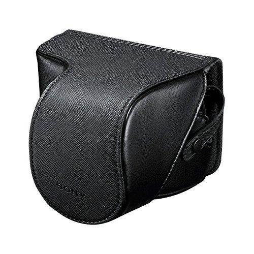 Sony LCSEJC3/B Custom Lens Jacket for Alpha NEX (Black) by Sony