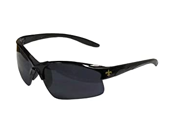 6ba3ccbfce53 Siskiyou Sports NFL New Orleans Saints Blade Sunglasses, Sunglasses -  Amazon Canada