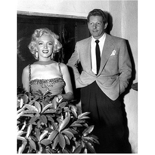 Marilyn Monroe Standing Next to Gentleman with Big Smile 8 x 10 Inch Photo