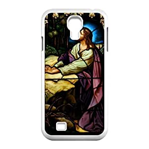 Best Quality [LILYALEX PHONE CASE] Jesus Christ Bless Us For SamSung Galaxy S4 Case CASE-15