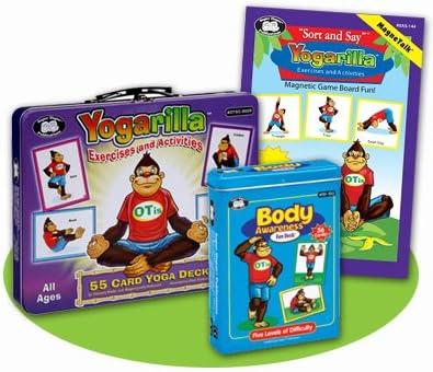 Amazon.com: yogarilla ejercicios & Actividades Tarjetas ...