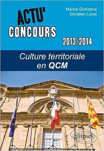Livre gratuits en ligne Culture Territoriale en QCM 2013-2014 pdf epub