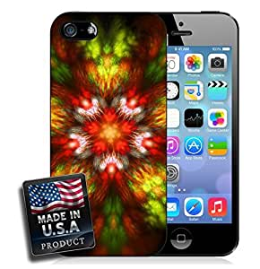 Abstract Shapes Psychedelic Trippy iPhone 4/4s Hard Case